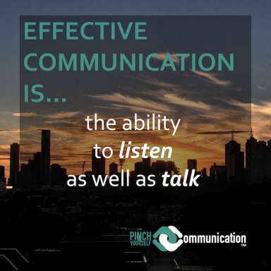 describe yourself as a effective communicator How to communicate effectively no matter your age, background, or experience, effective communication is a skill you can learn the greatest leaders of all time are also fantastic communicators and orators.
