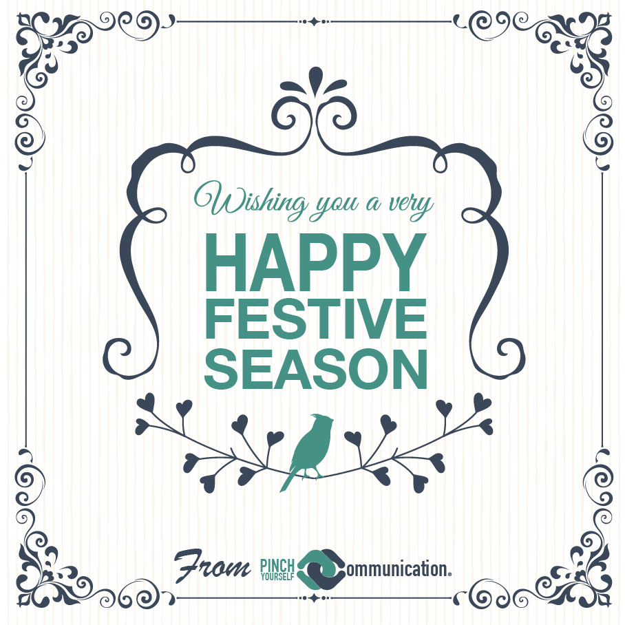 Wishing all our clients, associates and friends a safe and happy festive season