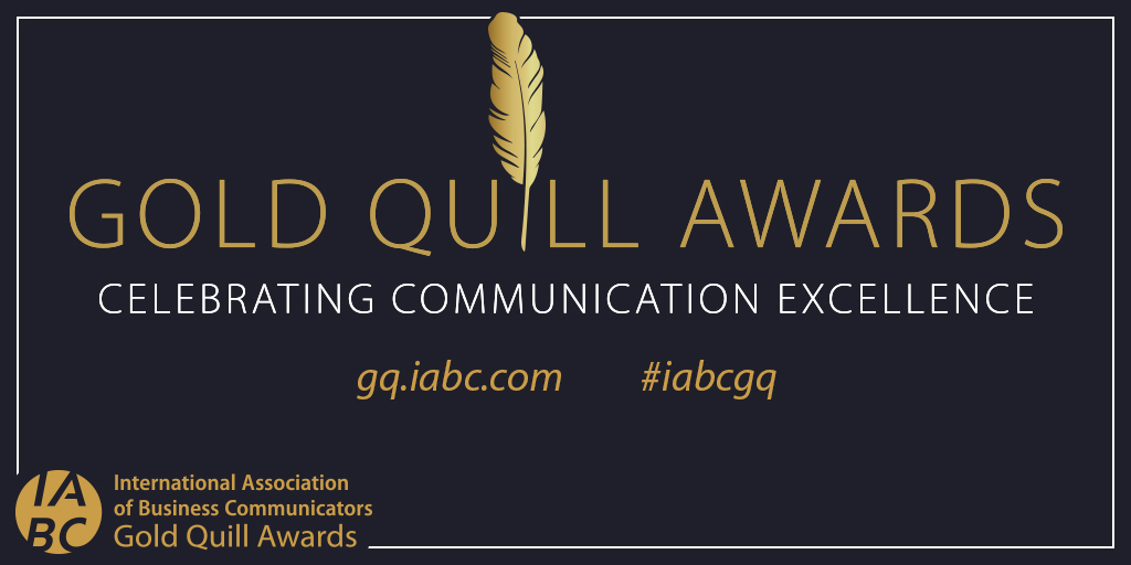 Two Gold Quill Awards for 2019 leave us pinching ourselves!